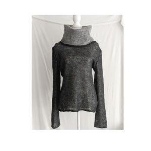 Escada Sport - Knit Sweater Wool Cowl Turtleneck
